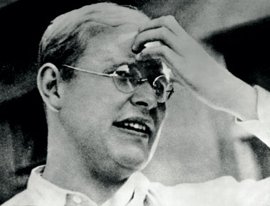 Deitrich Bonhoeffer, in the early 1930s. Photograph: Authenticated News/Hulton Archive/Getty Images