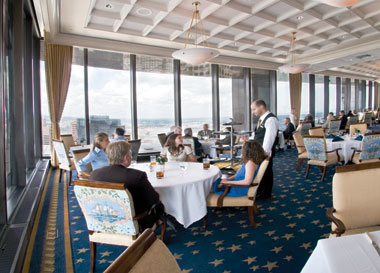 The club's Harbour Room on a Thursday last summer. Photograph: Lee Pellegrini