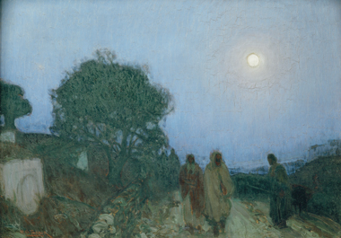 The Bethany Road, depicted by Henry Ossawa Tanner around 1905. Photograph: Erich Lessing/Art Resource, NY