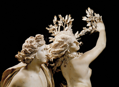 Detail of Apollo and Daphne (1622–25)
