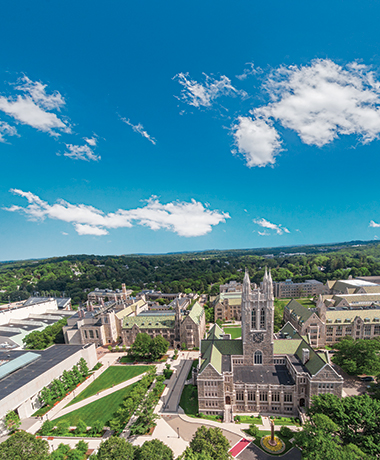 Long view of Middle Campus. Image: Gary Wayne Gilbert