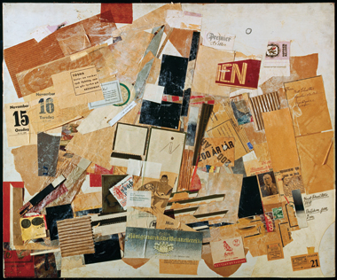 Dot on the I, by Kurt Schwitters, 1939. Image: © CNAC/MNAM/Dist. RMN-Grand Palais / Art Resource, NY