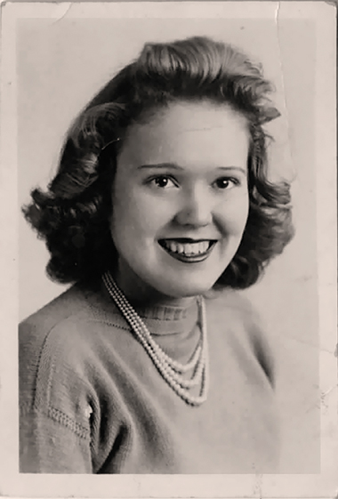 Betty, circa 1945. Photograph: Courtesy of George Hodgman