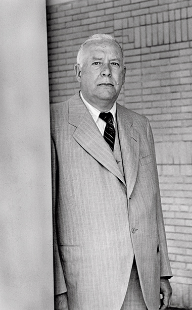 Wallace Stevens, 1952. Photograph by Rollie McKenna. Photograph: Courtesy National Portrait Gallery, Smithsonian Institution and Art Resource NY / © Rosalie Thorne McKenna Foundation