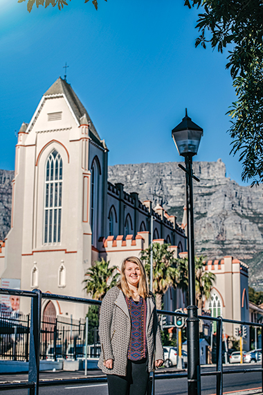 Rashke, near Cape Town's St. Mary's Cathedral. Image: DNA Photographers
