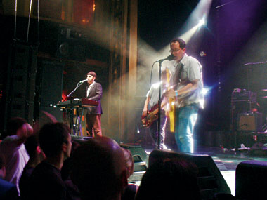 Webster Hall, November 7, 2005. Photograph: Nev Brown