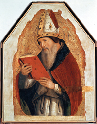 Augustine by Antonello da Messina. Scala/Art Resource, NY