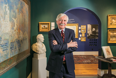 Vareika, in his gallery. Photograph: Gary Wayne Gilbert