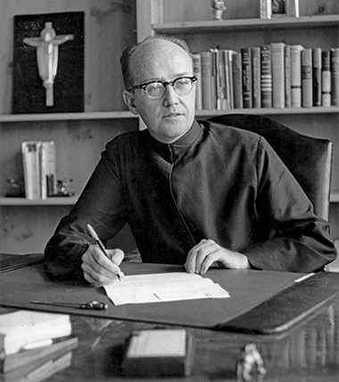 Charles Donovan, SJ, circa 1960. Image: Courtesy of John J. Burns Library Archive